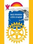 Fanion du Rotary Club Nice Riviera Côte d'Azur
