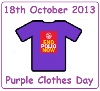 purple clothes day